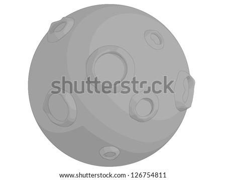 Moon - stock vector