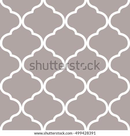 Moroccan Trellis Pattern 499428391