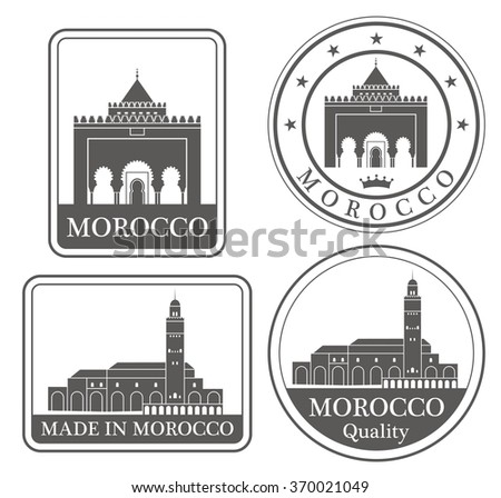 Morocco labels