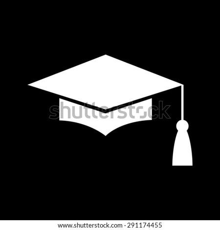 Mortar Board or Graduation Cap, Education symbol - stock vector
