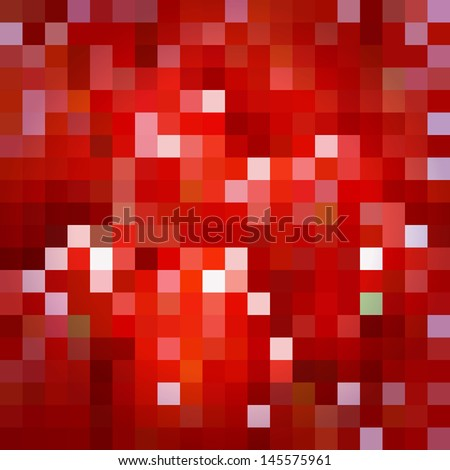 mosaic - stock vector