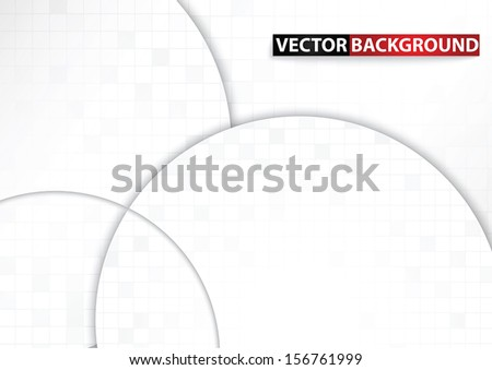 Mosaic and Curve abstract background, VECTOR, EPS10