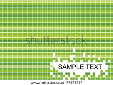 mosaic background - stock vector
