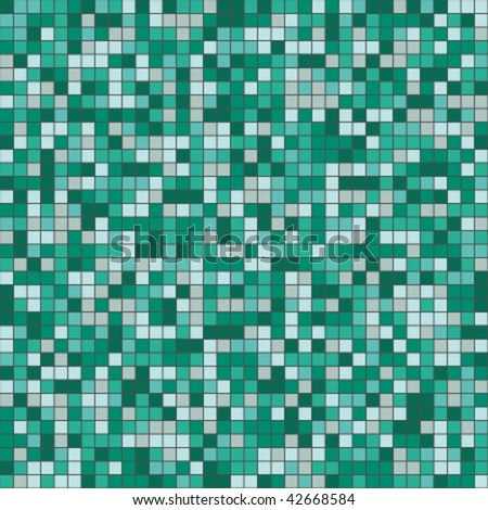 mosaic seamless pattern - stock vector