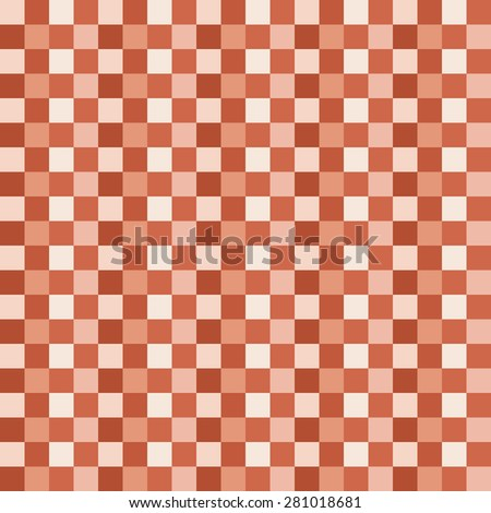 Mosaic seamless pattern. Square geometric form.