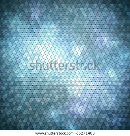 mosaic shiny background - stock vector