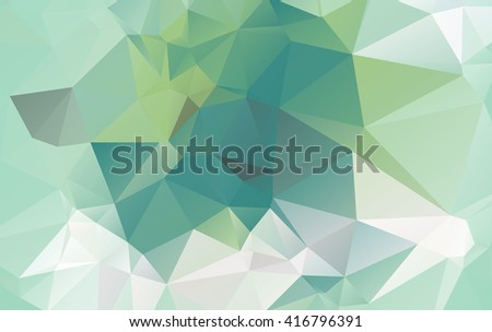 Mosaic triangle background. Geometric background.eps.10