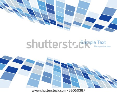 mosaic vector pattern design - stock vector