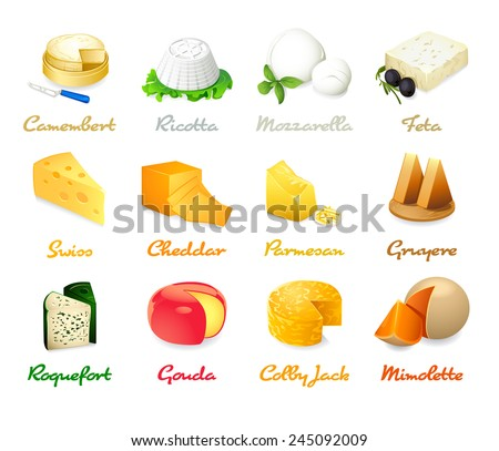 common types of cheese