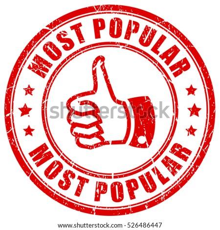 most popular rubber stamp vector illustration のベクター画像素材