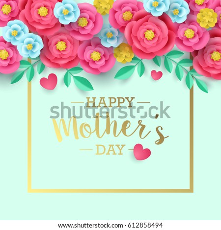 Mothers day greeting card design abstract stock vector 612858494 mothers day greeting card design abstract stock vector 612858494 shutterstock m4hsunfo