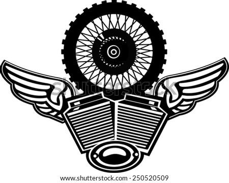 Motor Wheel Vector Images