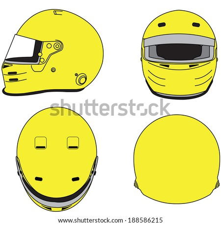 Motorcycle Helmet Outline Motorcycle Helmet Template