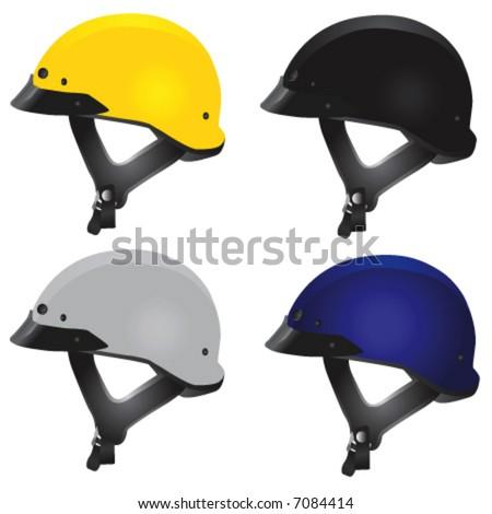Motorcycle Helmet Vector Front Motorcycle Helmet Vector 2