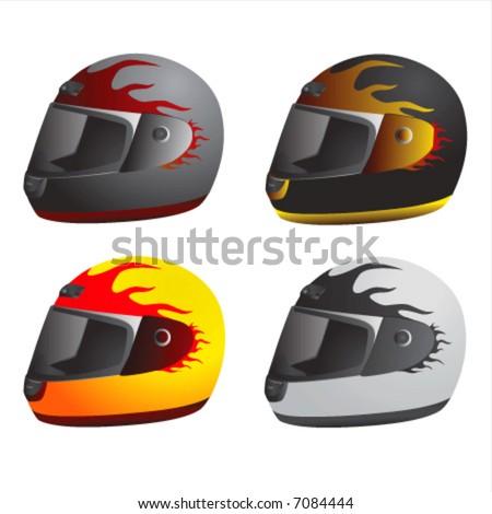 Motorcycle Helmet Vector Front Motorcycle Helmet Vector 1