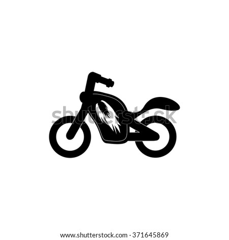 motorcycle vector icon