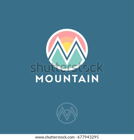 Mountain clothing store