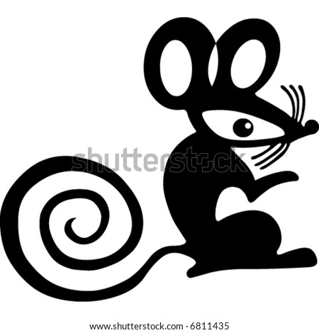 Mouse - stock vector