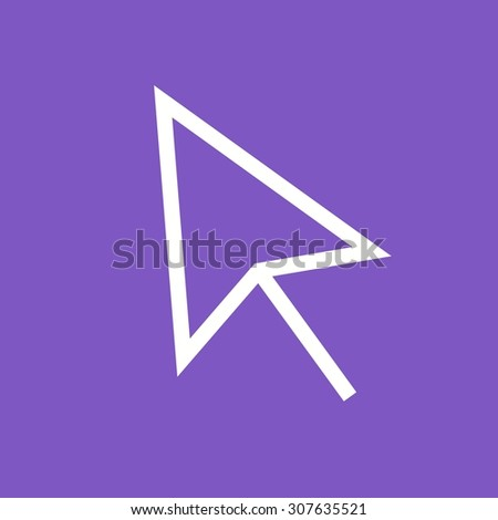 Mouse, computer, cursor icon vector image.Can also be used for user interface. Suitable for mobile apps, web apps and print media. - stock vector