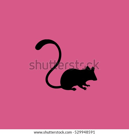 mouse icon illustration isolated vector sign symbol