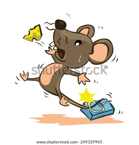 Mouse Trap - stock vector