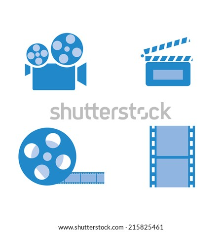 Movie entertainment icon vector design illustration.