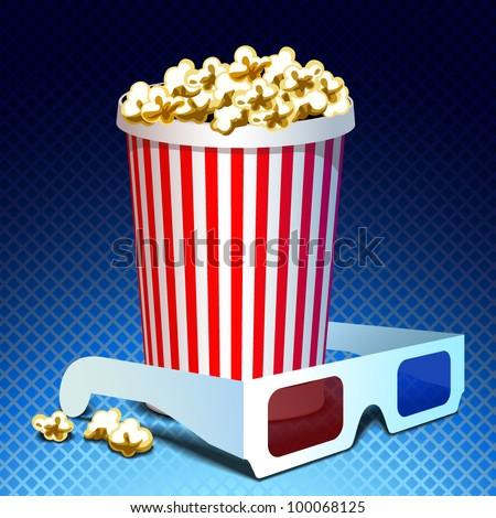 movie icon - stock vector