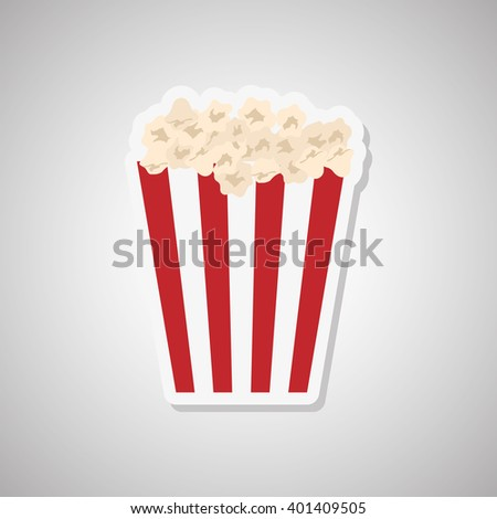 movie icon design, vector illustration