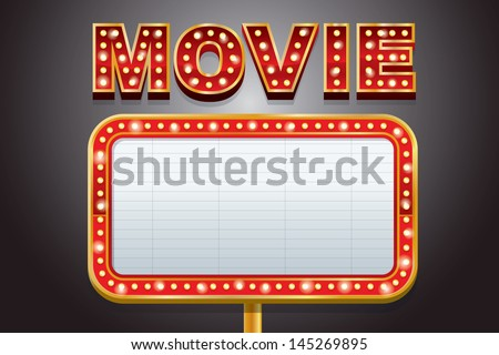 Theater Marquee Stock Images, Royalty-Free Images & Vectors ...