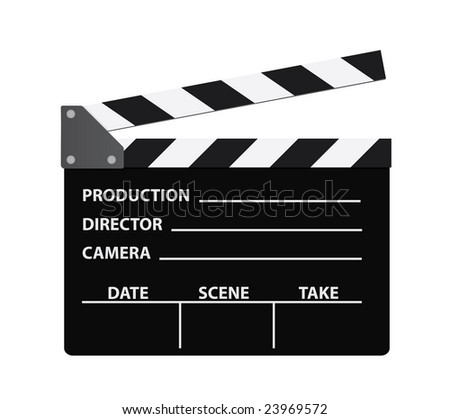 Movie or Film classic Clapboard