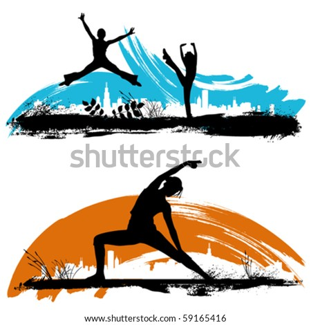 moving - stock vector