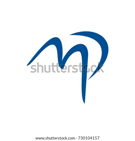 Mp pm initial letter logo design stock vector 2018 730104157 mp or pm initial letter logo design template vector spiritdancerdesigns Images