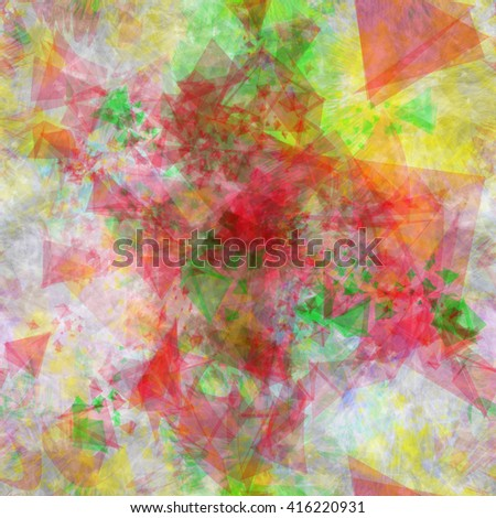 Muddy colored crystal seamless surface. Abstract vector pattern. Easy editable.