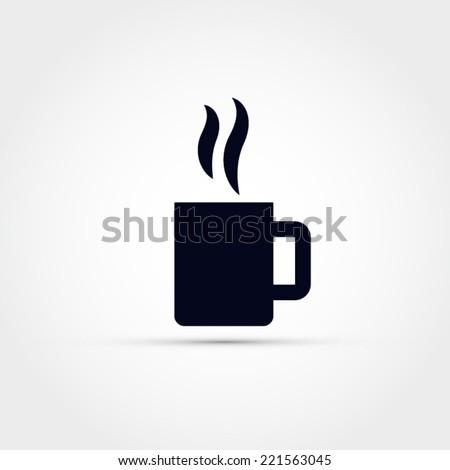 Mug icon - stock vector