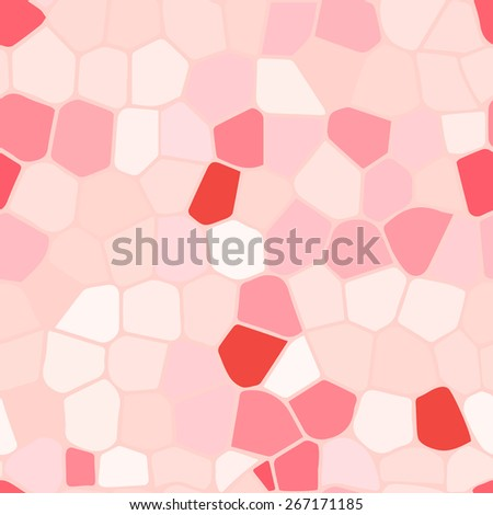 Multi colored stained glass Illustration (seamless texture) - stock vector