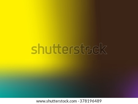 Multicolor abstract background with green,yellow and black color