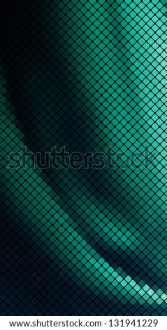 Multicolor abstract lights disco background. Square pixel mosaic vector eps 10 - stock vector