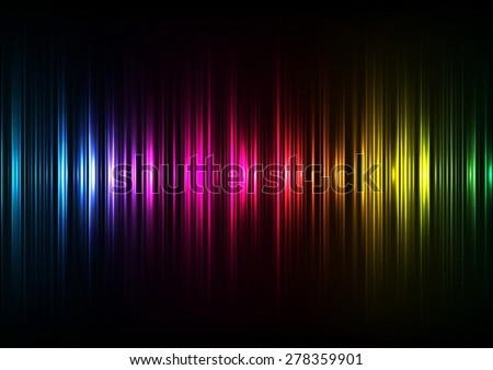 Multicolor abstraction. - stock vector