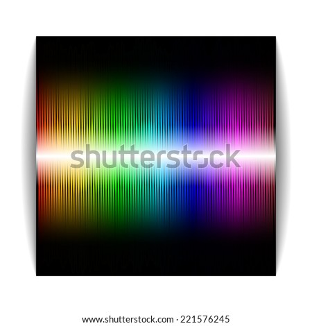 Multicolor abstraction. � Illustration. Vector EPS10 - stock vector