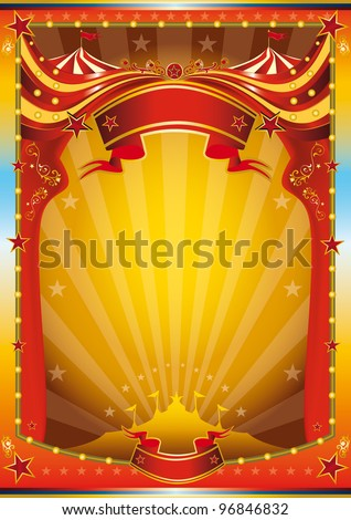 Circus design stock images royalty free images vectors for Circus posters free