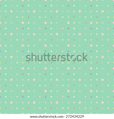 Multicolored dot background vector point. For pattern fills, web page background, blog. Stylish texture.