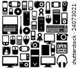Multimedia Gadgets - stock vector