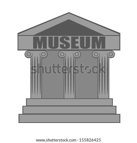 Museum icon  - stock vector