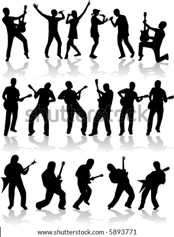 Music and song (vector) - stock vector