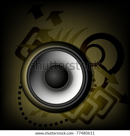 Music background - abstract theme