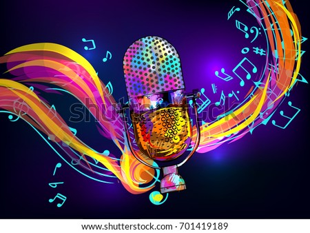 Karaoke Vector Stock Images, Royalty-Free Images & Vectors ...
