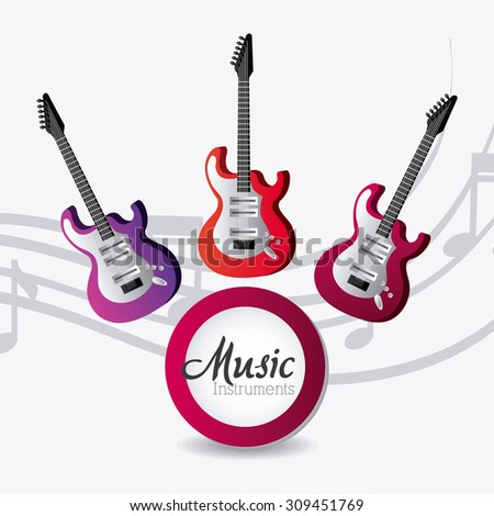 Music digital design, vector illustration eps 10.