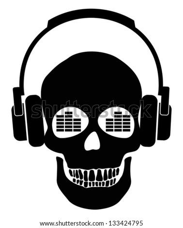 music fan - stock vector