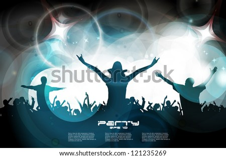 Music illustration - stock vector