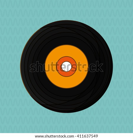 music illustration design, editable vector